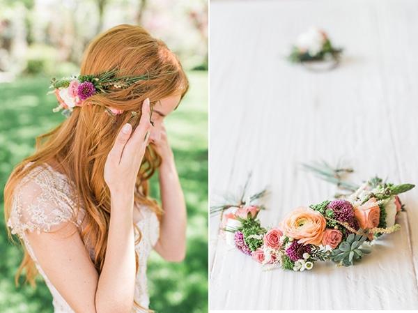 στεφανι-μαλλιων-αληθινα-λουλουδια
