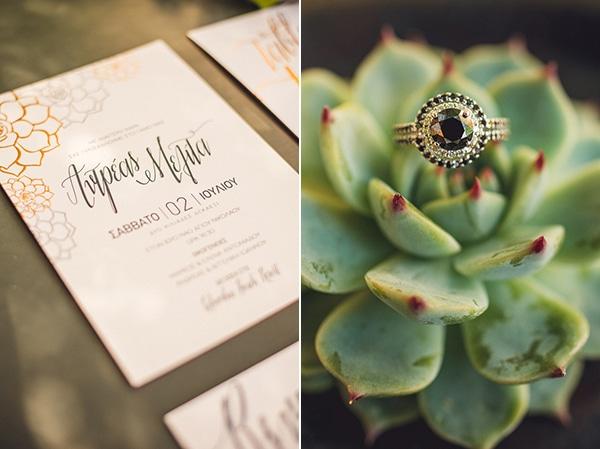 copper-foil-wedding-invitations