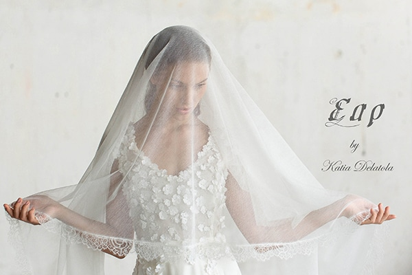 Gorgeous wedding dresses by Katia Delatola