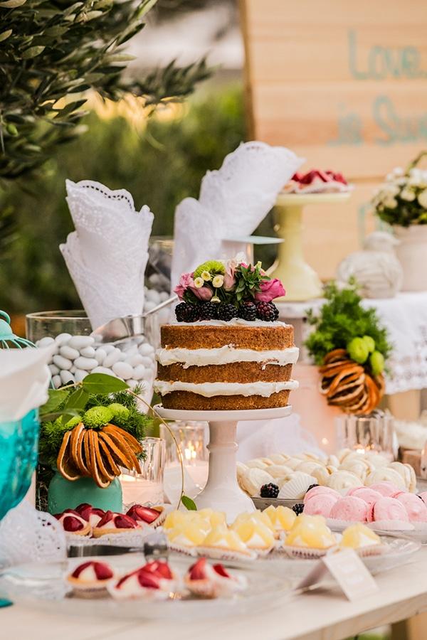 naked-cake-γαμος
