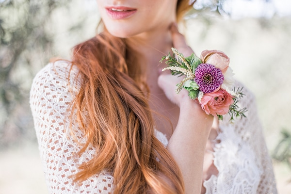 Romantic bridal shoot in Athens