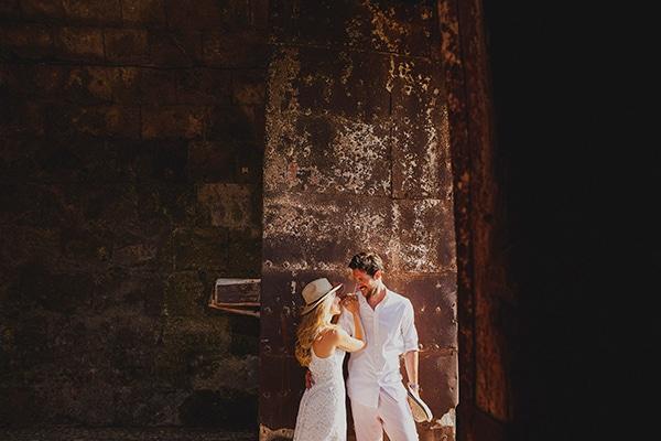 Elegant γάμος στη Ρόδο | Κατερίνα & Jean Baptiste