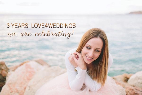 3 Χρονια Love4Weddings