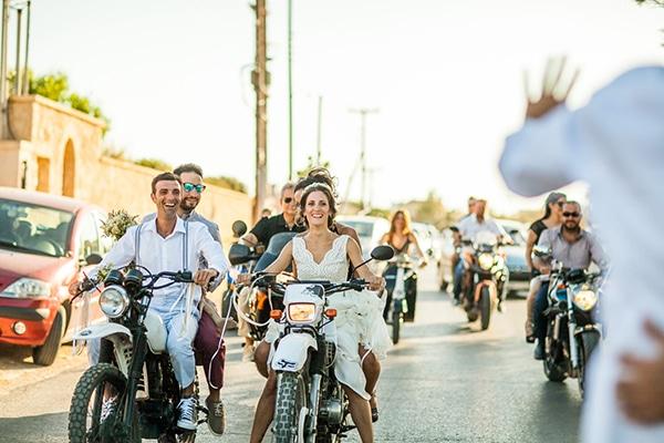 Μποέμ γάμος στην Αίγινα  | Αναστασία & Παναγιώτης