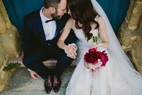 Elegant marsala wedding | Nasia & Marios