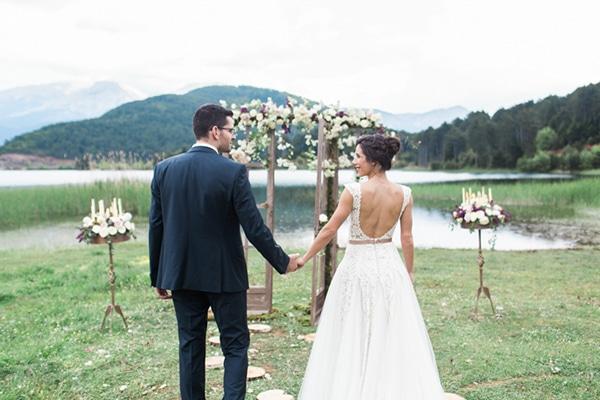 Ρομαντικός γάμος στη Λίμνη Δόξα | Έφη & Γιώργος