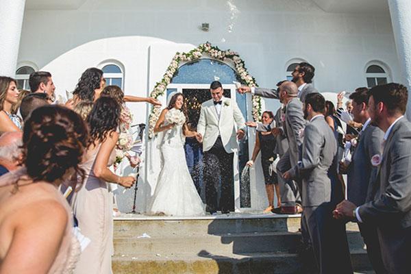 Ρομαντικός γάμος στη Λήμνο | Λία & Μπίλλυ