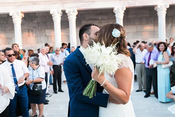 Ρομαντικός καλοκαιρινός γάμος | Εβίτα & Αντώνης