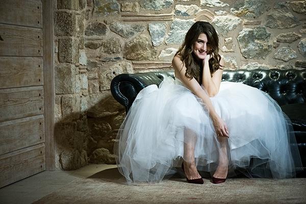 Ρουστίκ γάμος το χειμώνα | Τίνα & Πέτρος