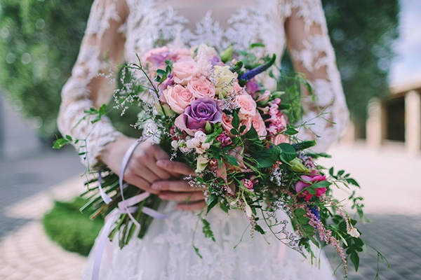 Romantic luxe wedding inspirational shoot