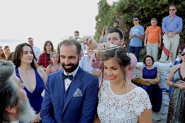 Καλοκαιρινος γαμος στην Ανδρο | Βιντεο γαμου