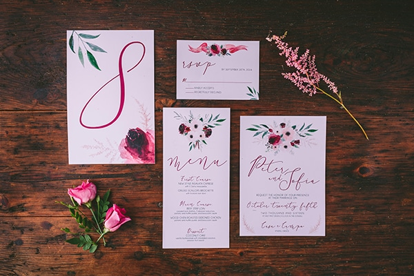 wedding-invitation-floral-pattern