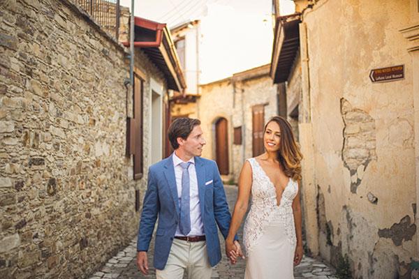 Καλοκαιρινός γάμος με χρώματα | Έφη & Aurelien