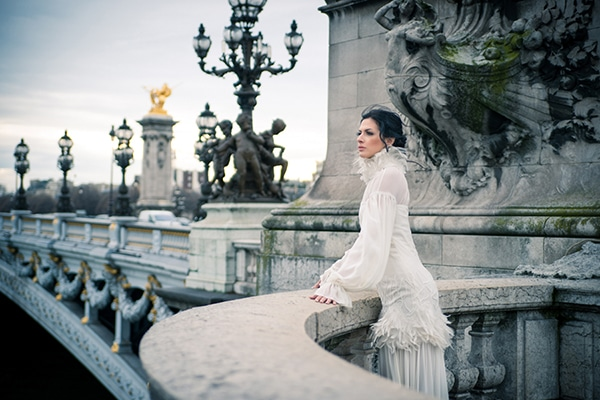Elegant Alkmini νυφικα | The Paris collection