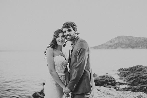 Ρομαντικός γάμος με απαλά χρώματα | Μαρία & Άκης