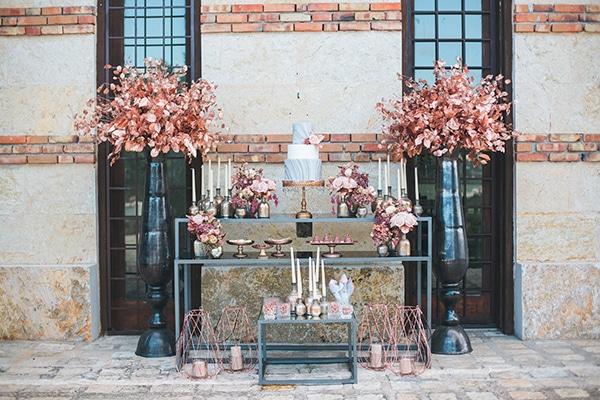 rose-gold-grey-wedding-decoration-ideas (8)
