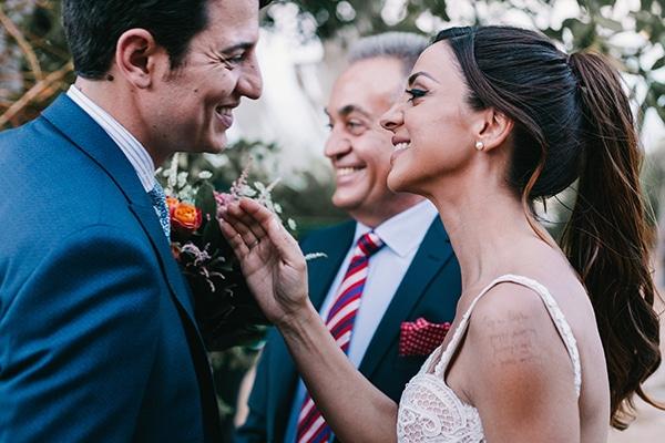 Ρουστίκ γάμος στο Κτήμα Λαας | Σοφία & Γιώργος