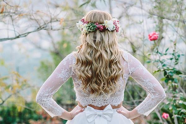 Ιδεες για νυφικα χτενισματα για καλοκαιρινο γαμο