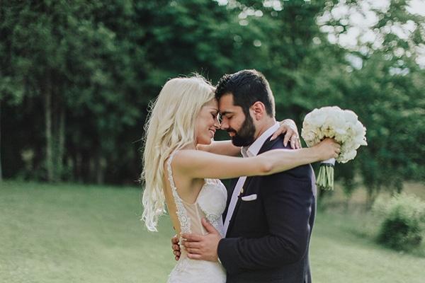 Chic γάμος με παιώνιες | Χριστίνα & Γιώργος