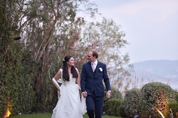 Elegant φθινοπωρινός γάμος στην Αθήνα | Kelly & Dany