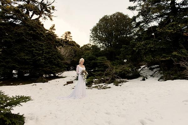 Winter inspired photo shoot