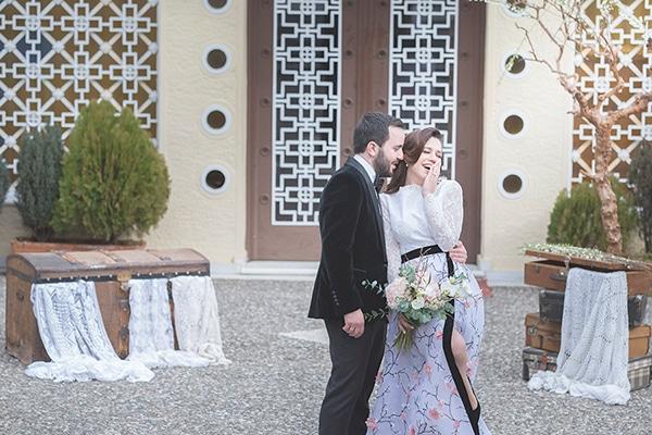 Blossom chic γάμος με θέμα την αμυγδαλιά | Αγγελική & Βασίλης