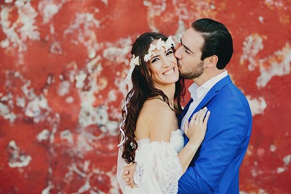 Ομορφος diy γαμος στην Υδρα | Αρχοντια & Αντωνης