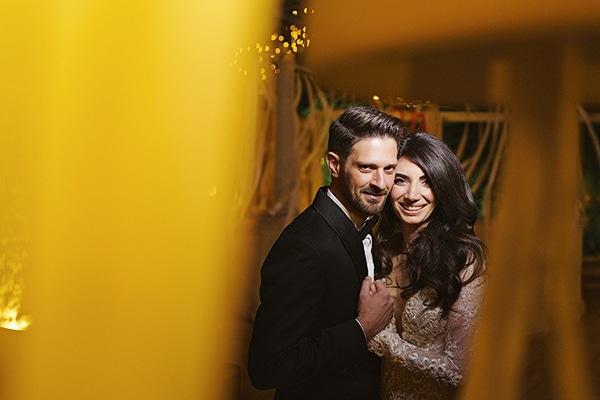 Elegant χειμωνιάτικος γάμος | Μαρκέλα & Νίκος
