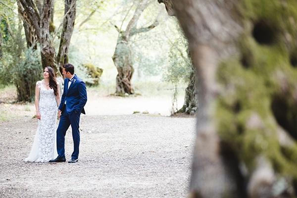 Rustic chic καλοκαιρινος γαμος στα Συβοτα | Κωνσταντινα & Δημοσθενης