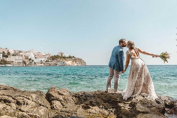 Boho chic γαμος στη Συρο