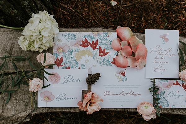 Floral προσκλητηρια