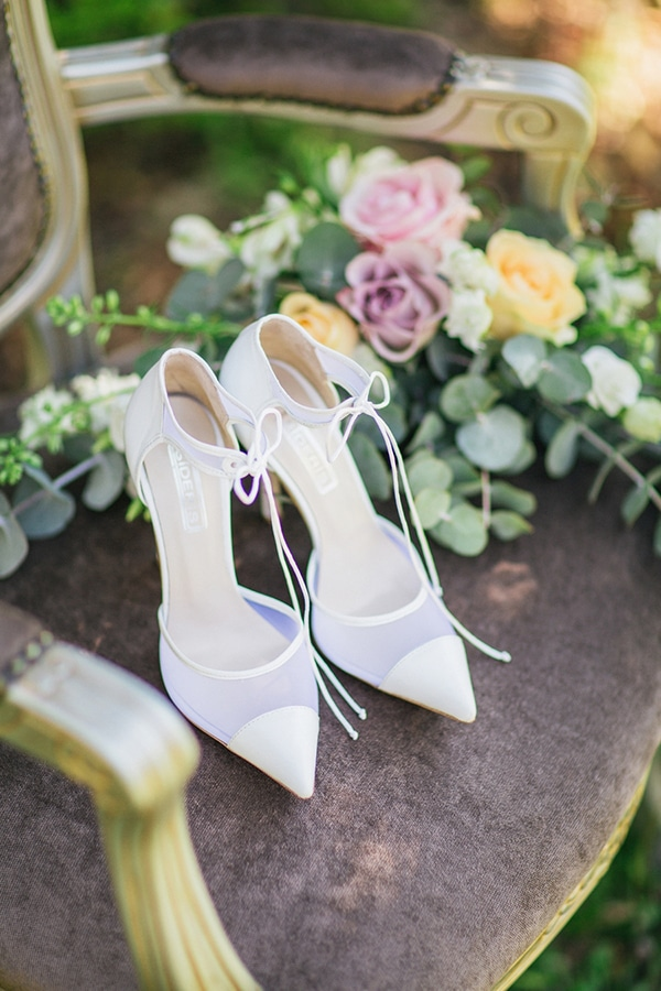 Elegant νυφικά παπούτσια