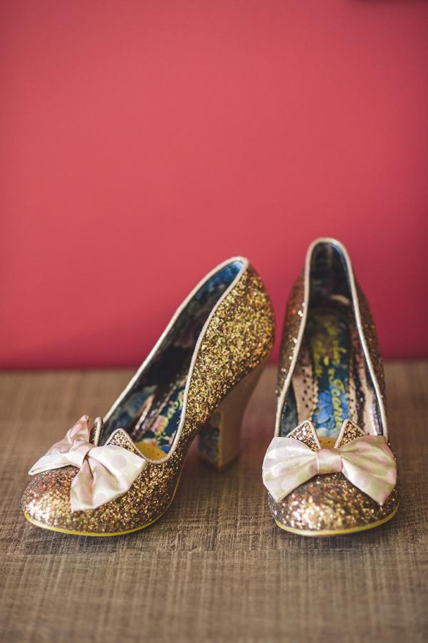 60's νυφικα παπουτσια