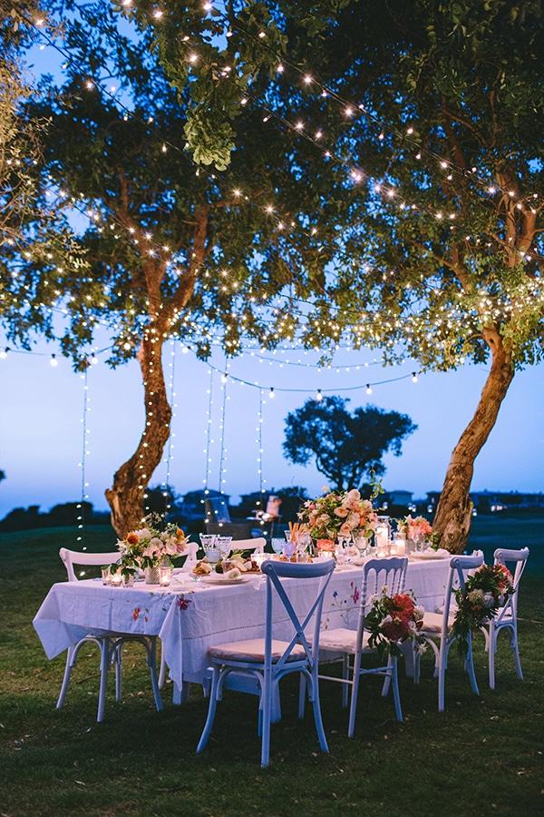 Ρομαντικη διακοσμηση γαμου