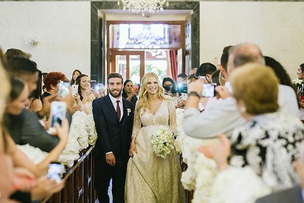 Ο πανέμορφος γάμος της Χριστιάνας Αριστοτέλους