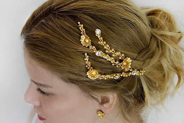 Τα πιο ωραια νυφικα αξεσουαρ για τα μαλλια της νυφης | Thallo