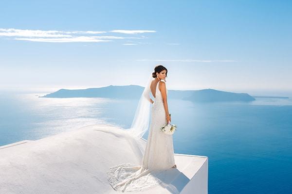 Νυφικο για γαμο σε νησι