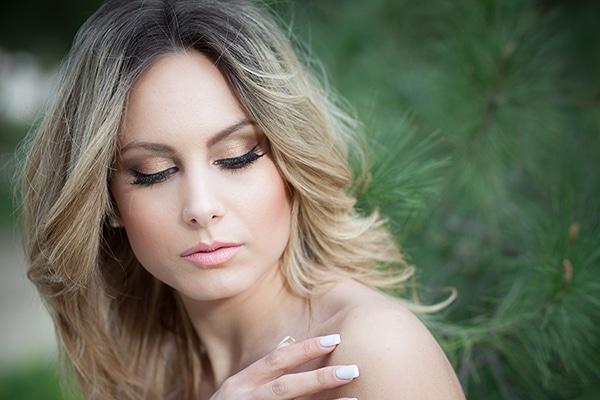 Νυφικο μακιγιαζ για ξανθιες νυφες
