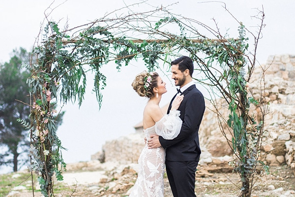 Beautiful romantic styled shoot