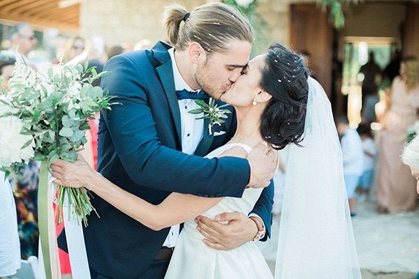 Elegant γάμος με θέμα την ελιά | Σκεύη & Φώτης