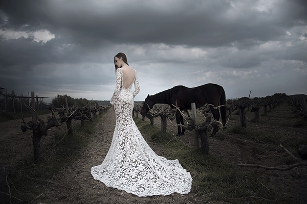 Gorgeous wedding dresses by Gregory Morfi