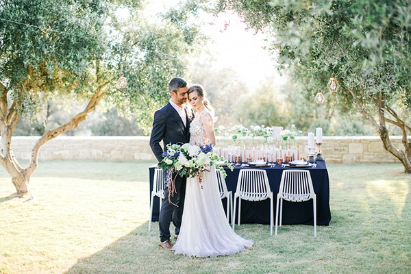Stunning modern inspiration shoot in Crete