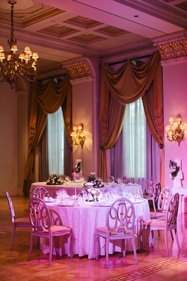 Elegant διακοσμηση γαμου