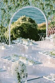 Εντυπωσιακη διακοσμηση γαμου