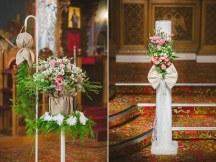 Στολισμος λαμπαδας για μποεμ γαμο