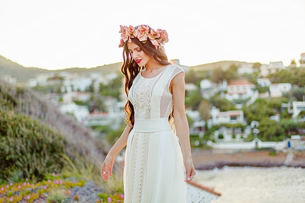 Colorful and beautiful bridal shoot