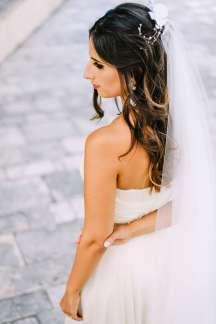 Ρομαντικο πεπλο νυφης