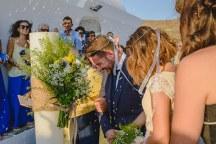 Διακοσμηση λαμπαδας γαμου