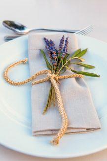 Διακοσμηση γαμου με ρουστικ λεπτομερειες
