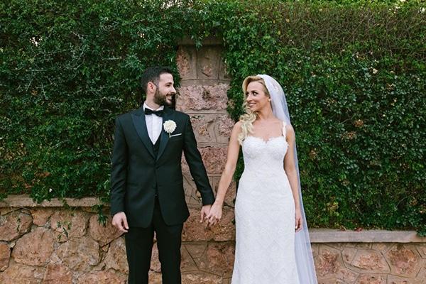 Ομορφος γαμος με elegant Grecian στυλ | Σακης & Δεσποινα